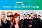 Win tickets to Simple Minds and The B-52's
