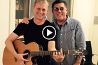 Robert Scott performs 'Heart and Soul' with Andy Dickson from The Narcs