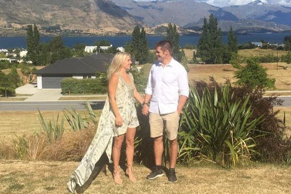 Richie McCaw married Gemma Flynn over the weekend