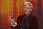 Ellen Degeneres breaks record for most People's Choice Awards
