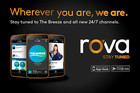 We're on a brand new app called rova!