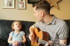 Father and daughter sing duet of 'You've Got a Friend in Me'