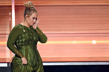 Adele gives her 'Best Album' Grammy award away to another finalist