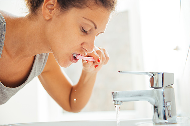 Brushing your teeth after every meal