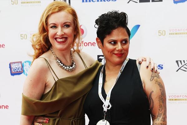 Kiwi singer Anika Moa has married her journalist partner
