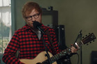 Ed Sheeran performs his latest single 'How Would You Feel'