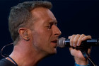 Chris Martin's emotional tribute to George Michael at BRIT awards