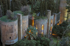 Architect turns old cement factory into a beautiful home
