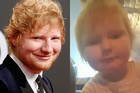 A baby in the UK looks exactly like Ed Sheeran