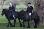 The Queen still enjoys riding her horses at 90