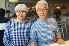 Adorable couple wear matching outfits everyday